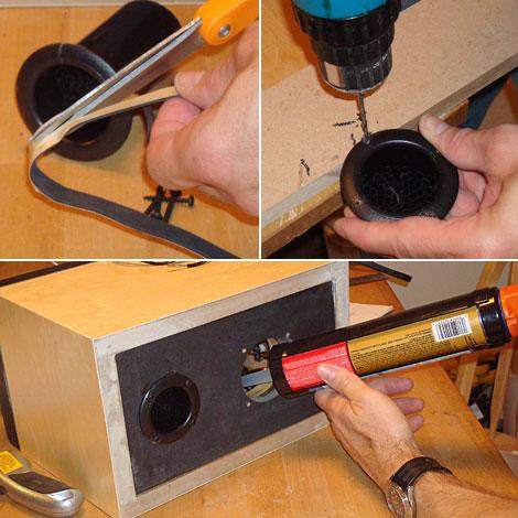 Cách dựng loa thùng